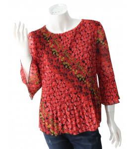 Elegant and attractive girls' blouse 85758-2464