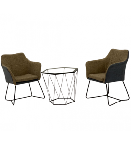 Table and 2 chairs set 231-3760