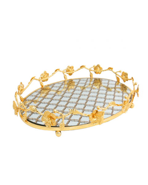 Topheria Introducing Steel Round Gold Mirrors 217835