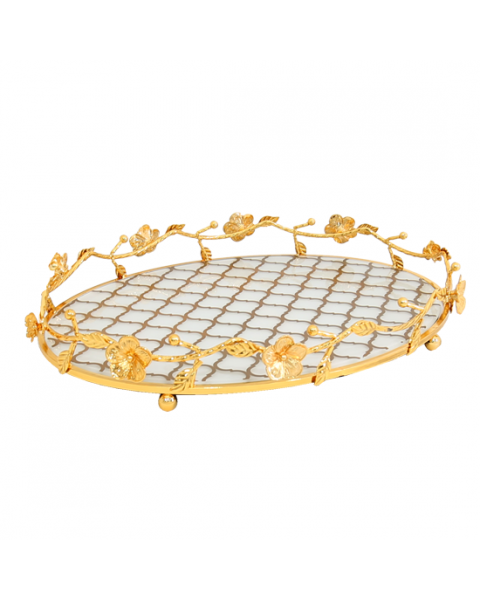 Topheria Steel Oval Gold Plated 217840