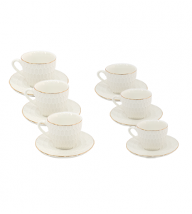 A set of two wings and a Turkish coffee LR190193