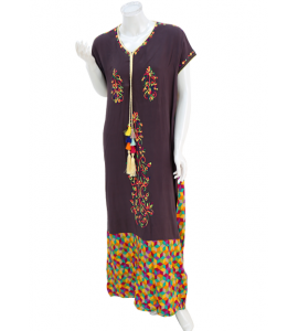 An elegant and soft Galabia for women, YLN-75058