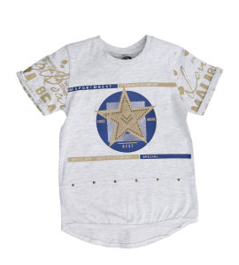 Youth elegant and soft T-shirt UN460617