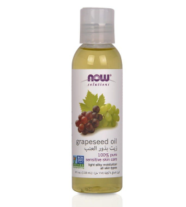 NOW 100% Pure Grape Seed Oil 118 ml