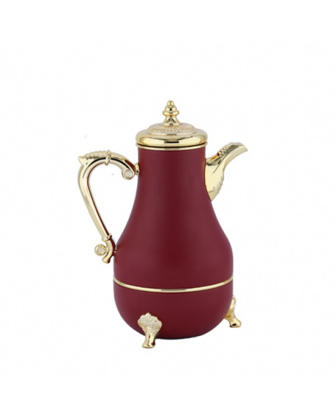 Luxury red / gold Agadir flask 700 liters