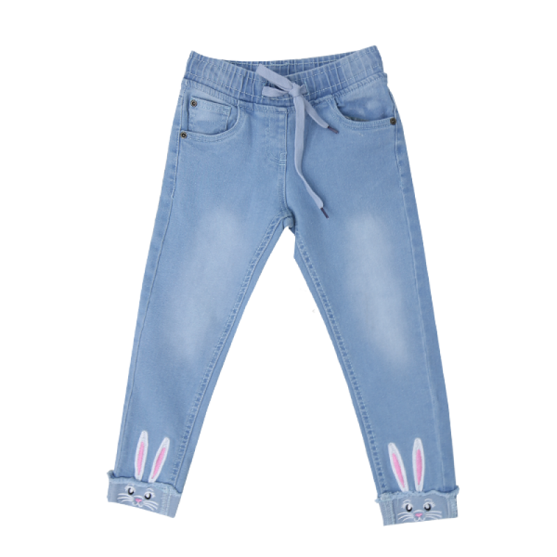 Girls' Fashionable Jeans 001-000002-1