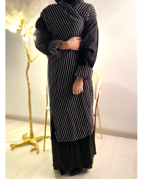 Embroidered abaya for women 05530-4