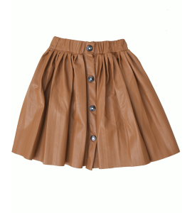 Girl's Leather 00MR12264A Skirt