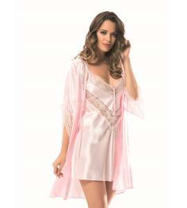 Primoda Satin Short Dress 2 Pieces 3258-7286