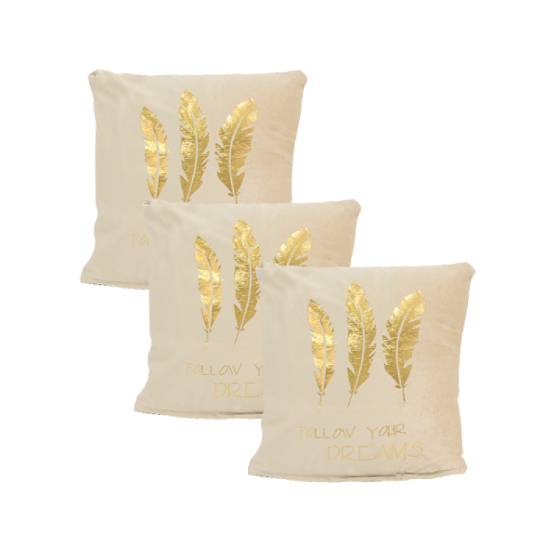 Soft Decorated Pillow 1 Piece: Y02516562