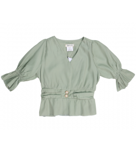 An elegant and attractive girl's blouse SR6237B
