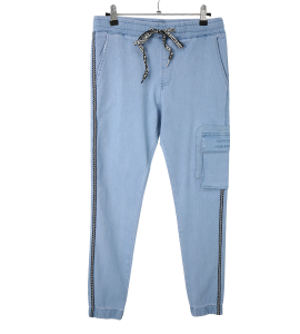 Fashionable and soft jeans for women, 3041-12076